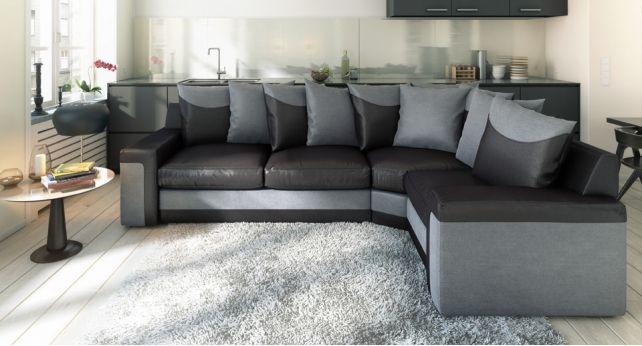 Modern Sectional Sofas Link Corner Scatter Back