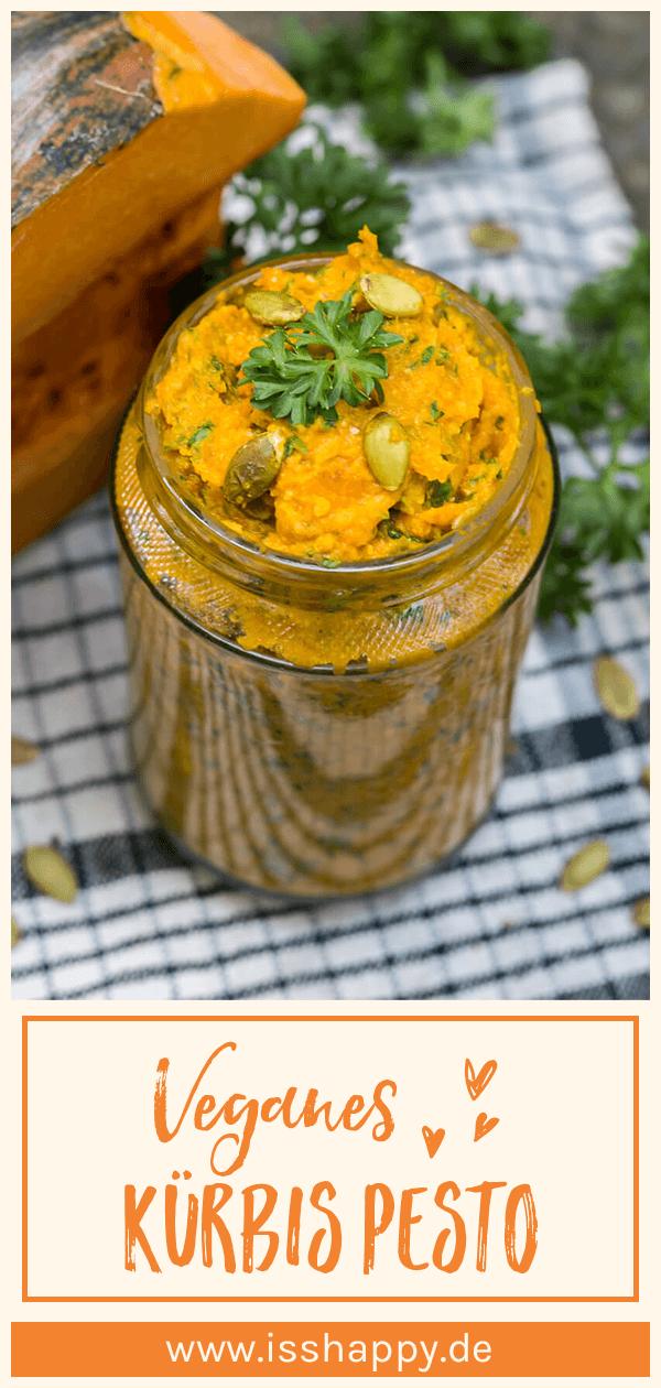 Veganes Kürbis Pesto - super einfach, lecker & gesund #chickenalfredo