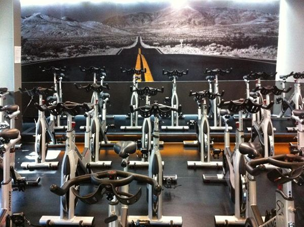 Create Your Own Wall Mural Create Your Own Photo Wallpaper Murals Your Way Gym Design Spin Studio Spin Gym