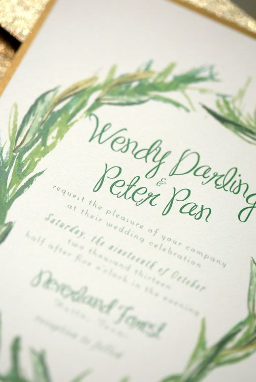 Neverland Wendy Peter Pan Wedding Fantasy Wedding