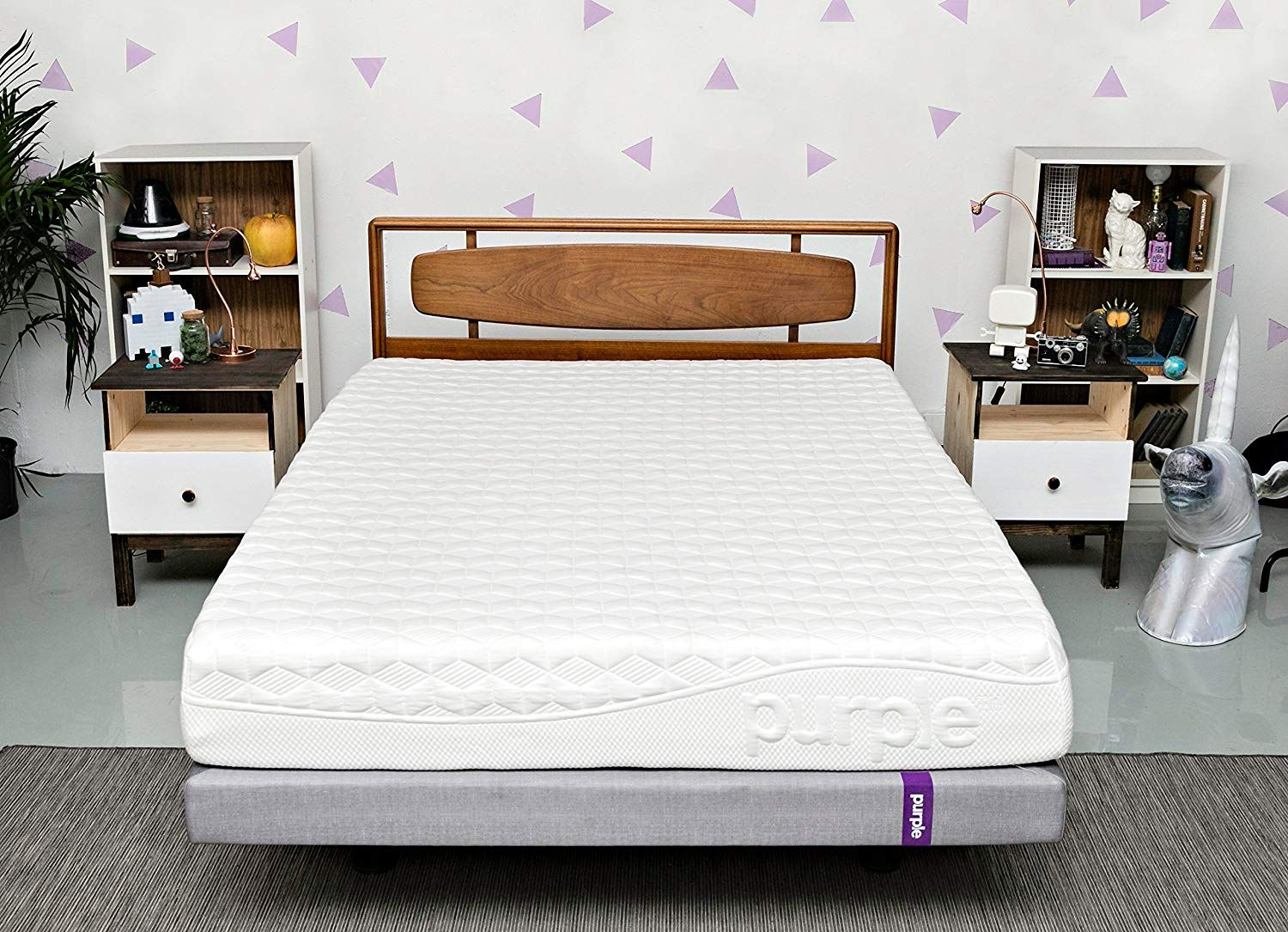 Best Memory Foam Mattresses Purple queen mattress, King