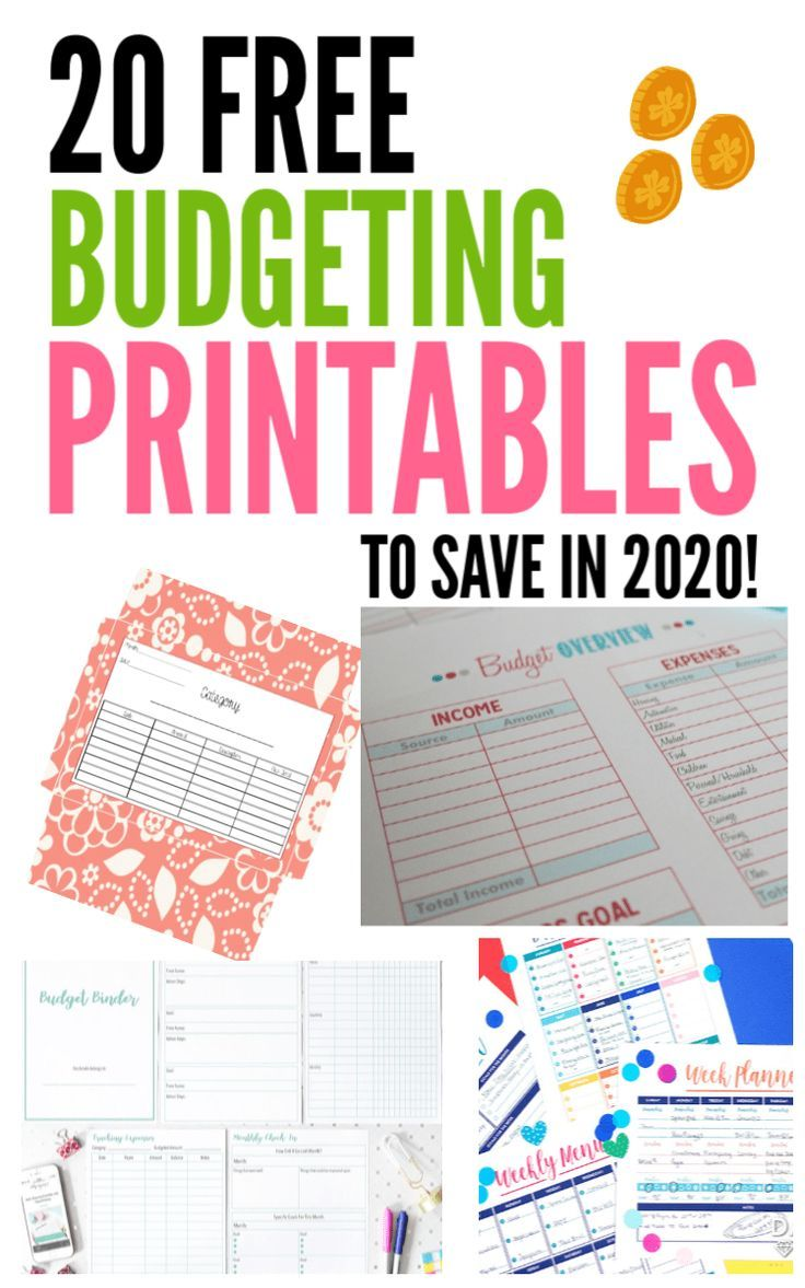 21 Free Budgeting Printables to Help You Save Money in