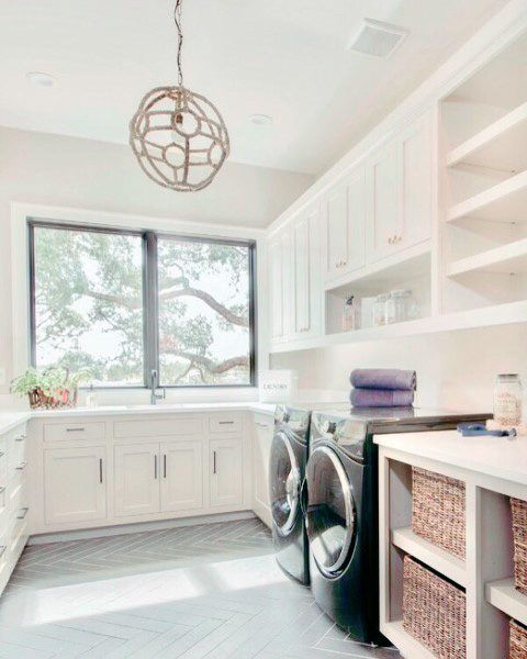 Top 50 Best Laundry Room Ideas - Modern And Modish Designs