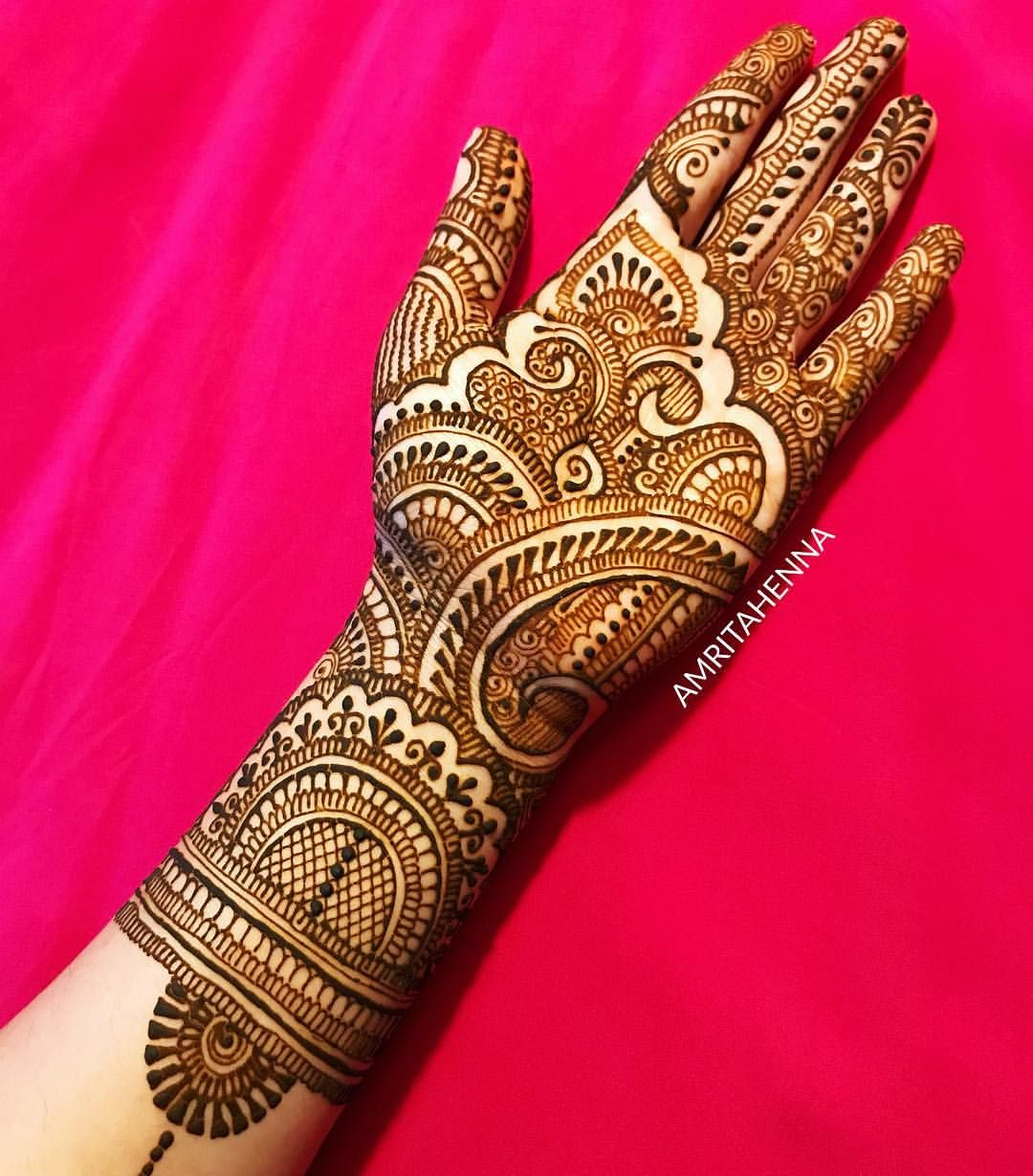 Traditional Henna Designs: New Traditional Rajasthani Bridal Henna Design Video On My