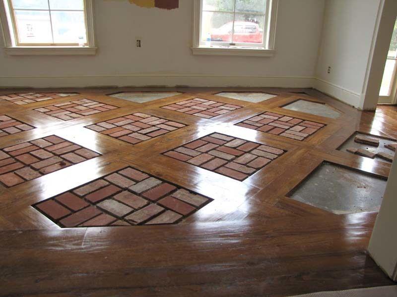 Brick Floor Tile Installation Photos Acadian Brick Stone