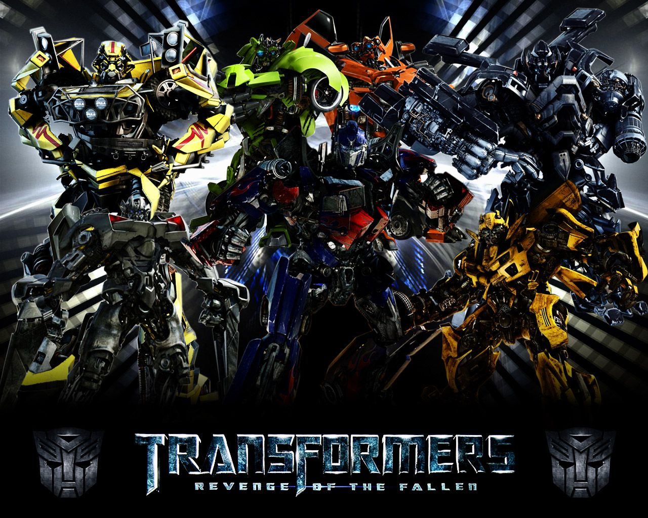 HD Wallpaper of X Autobots Group, Desktop Wallpaper X Autobots Group