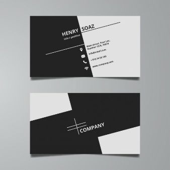 Business Card Vectors Photos And Psd Files Graphic Design