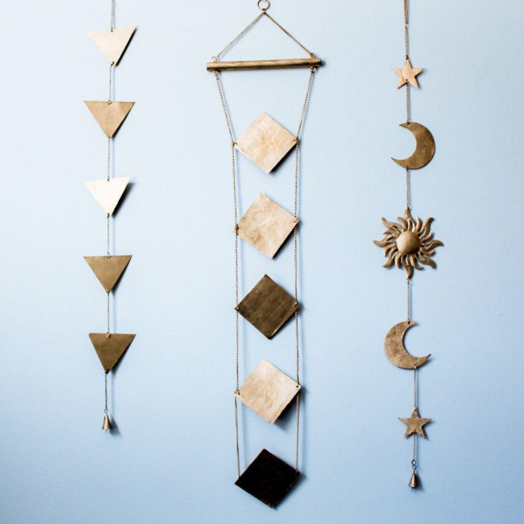 Sun Moon and Stars Wall Hanging Decor - Lady Scorpio ♡ - 1