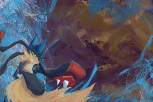 bak62:  battle by luarioujar