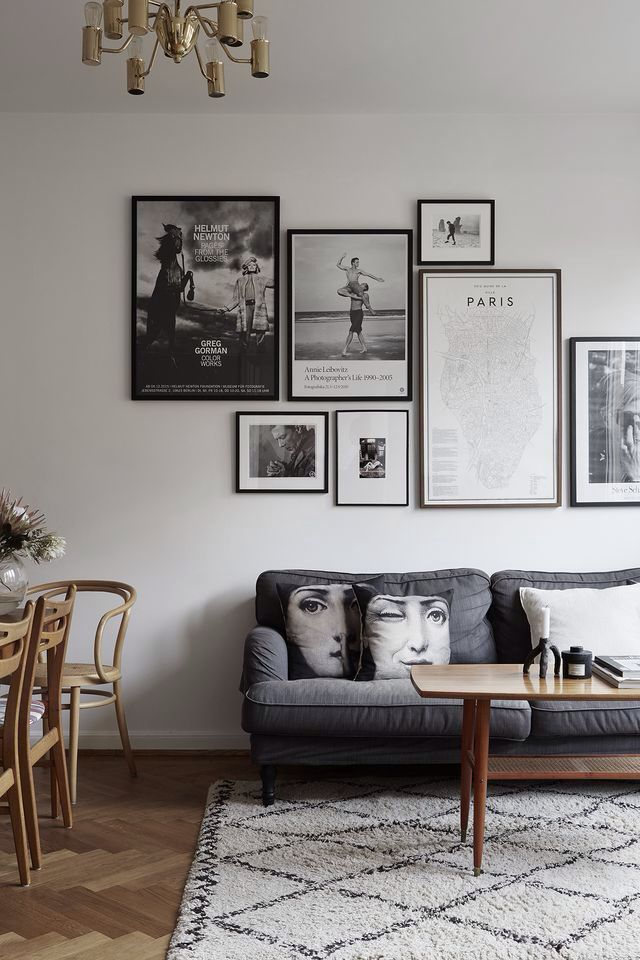 Gallery wall layout idea Are you looking for unique and beautiful