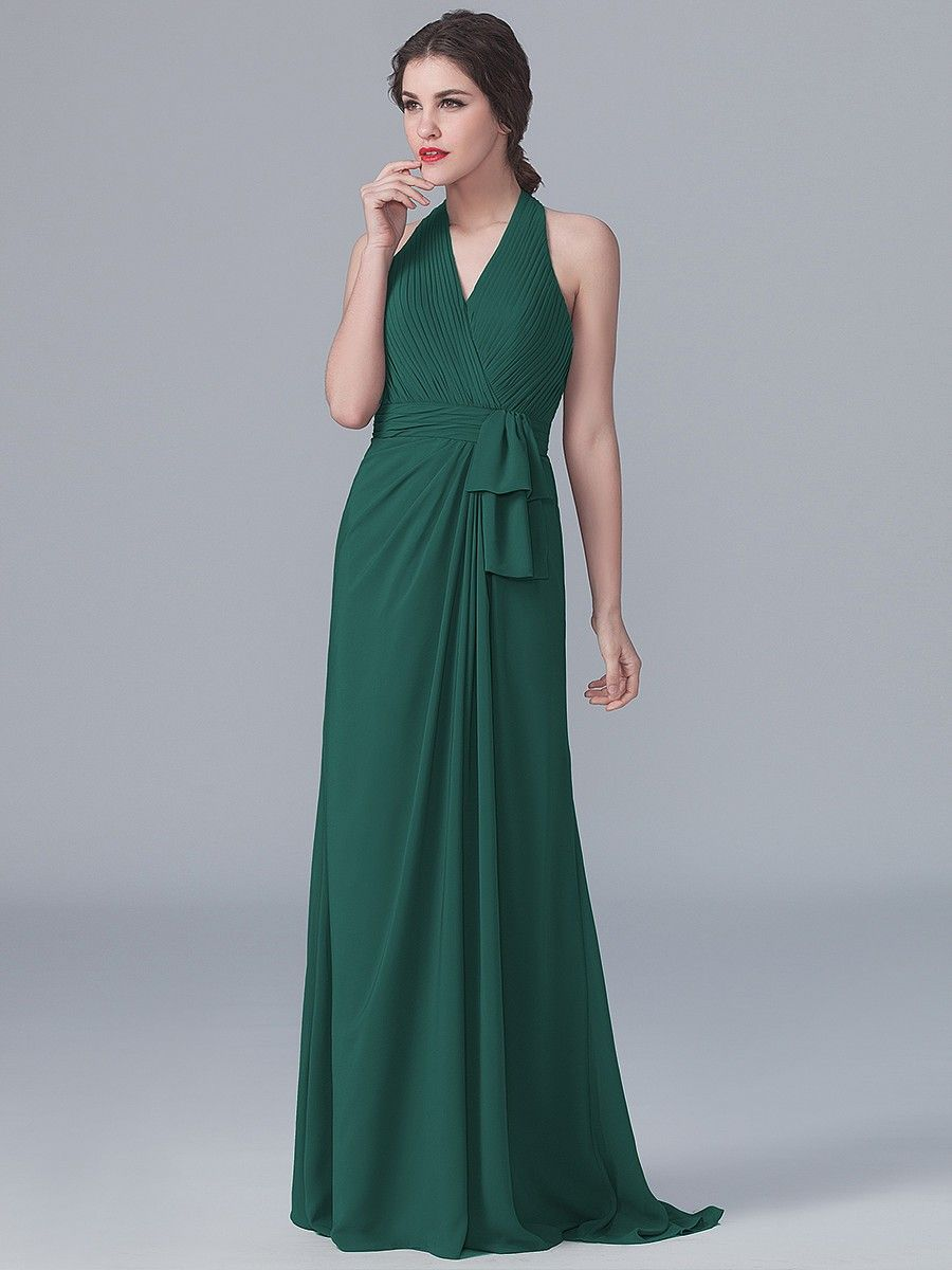 Halter V-neck Dress | Plus and Petite sizes available! Hundreds of ...