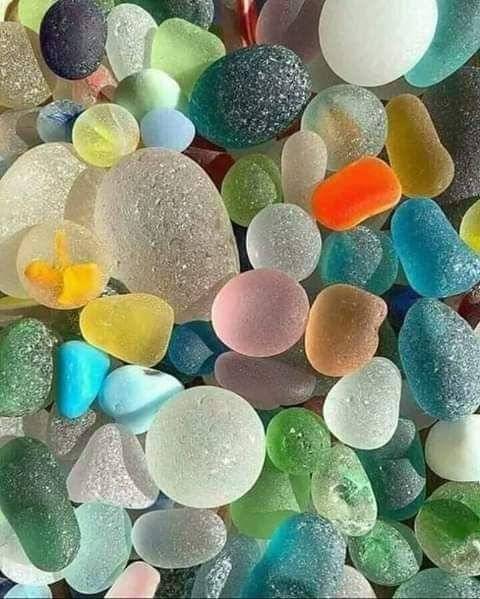 Shining stones