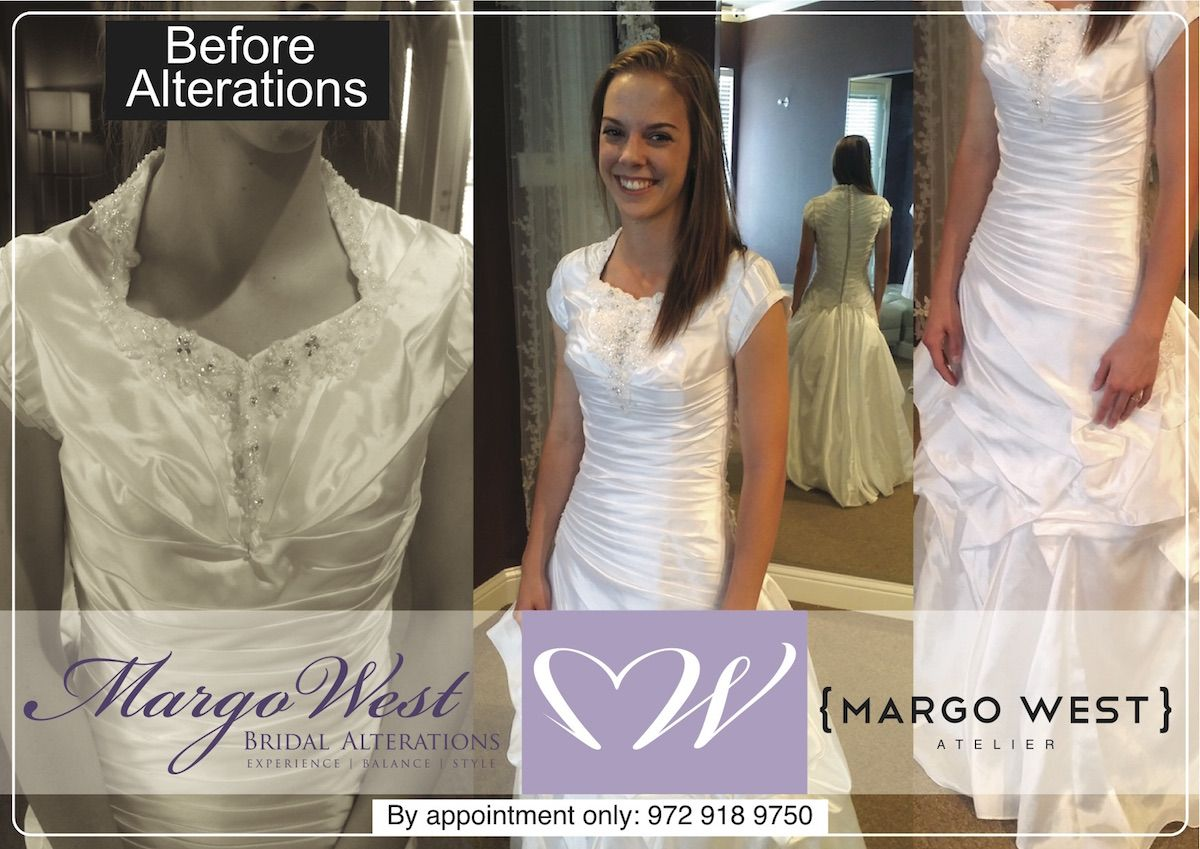Best Bridal Alterations In Texas By Margo West Margo West Bridal