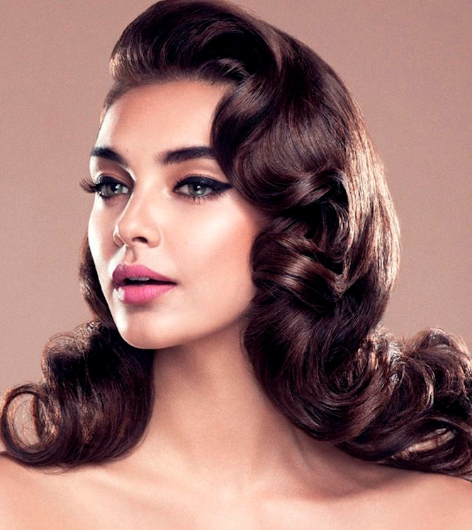 peinado vintage