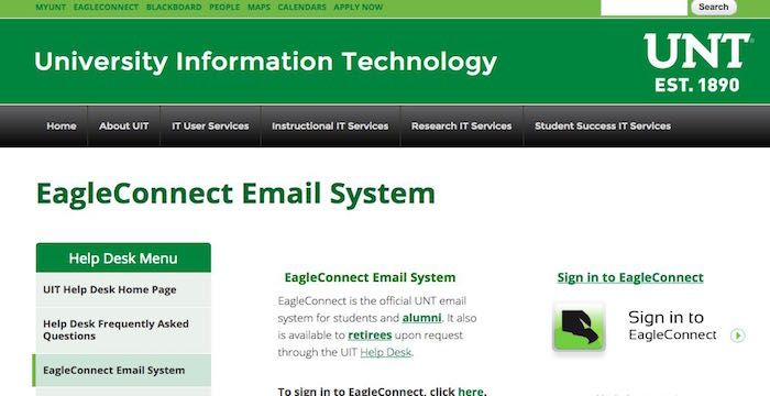 UNT Email   Email Services   Pinterest