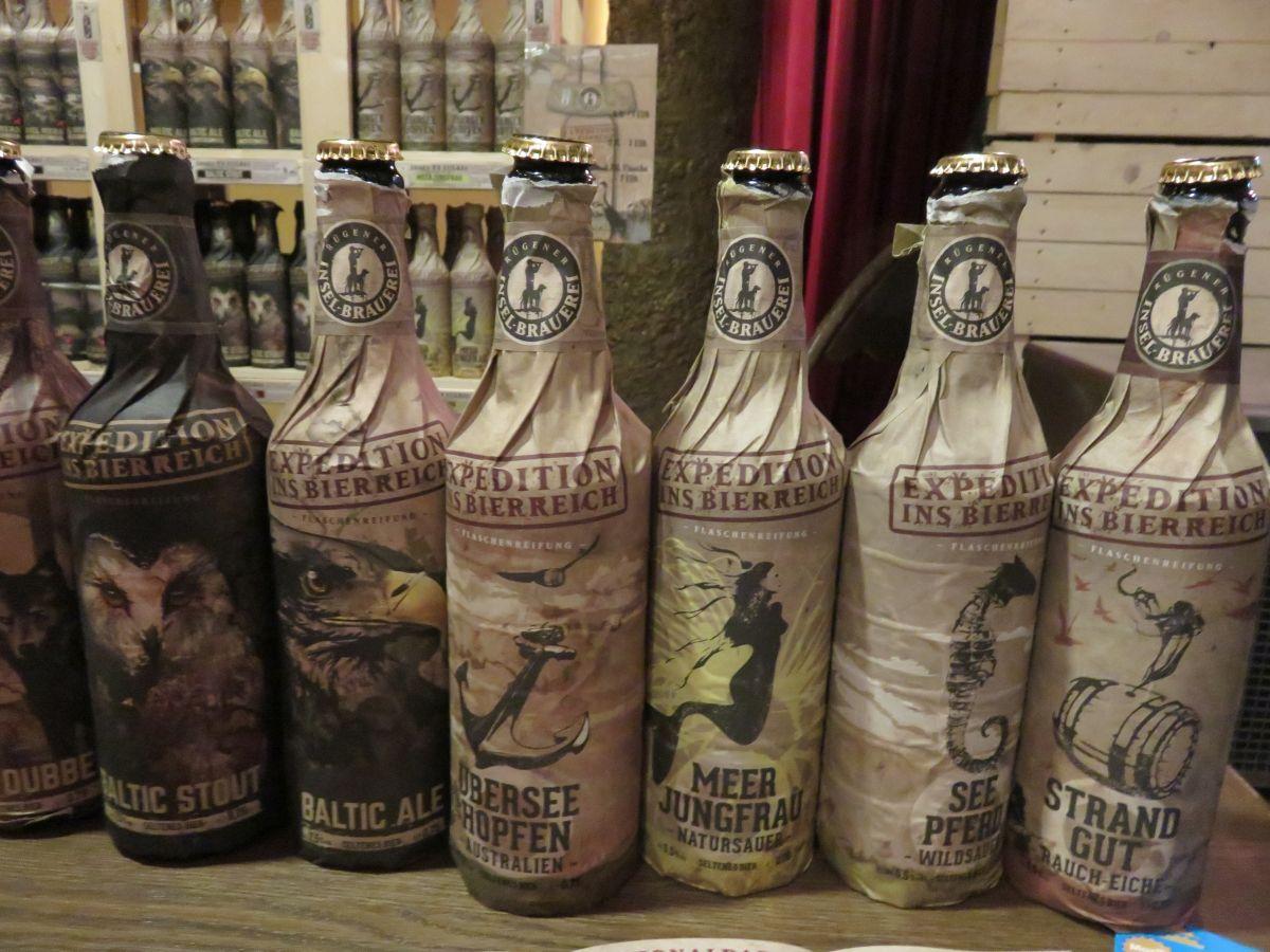 Bierflaschen Rügener Insel Brauerei