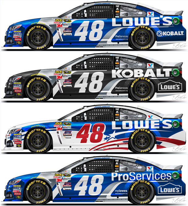 Graphic Design Graduate With Passion For NASCAR Designs