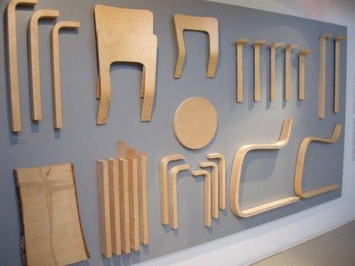 Alvar Aalto chairs parts