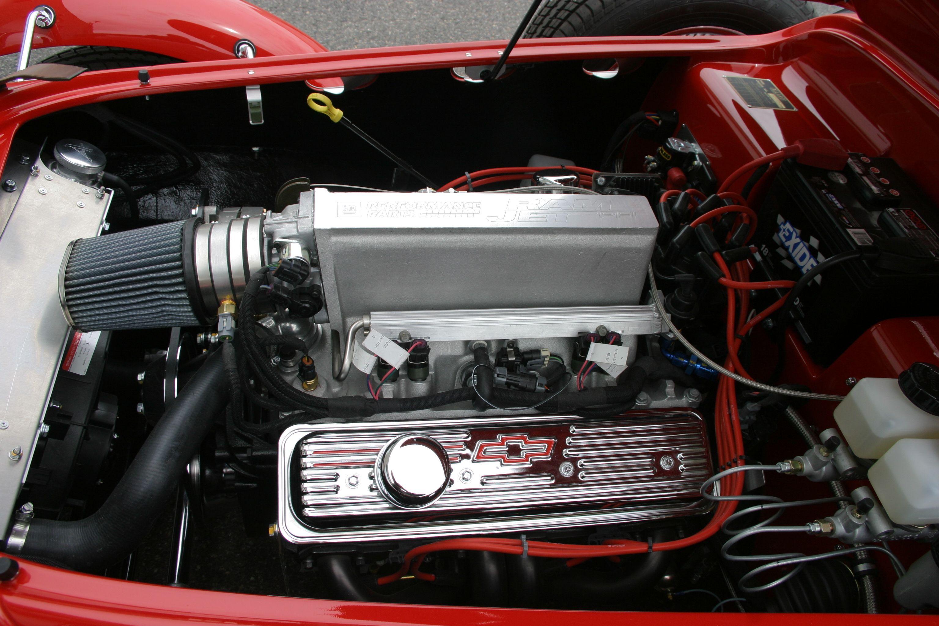 Gm Ramjet 350 Pfi Corvette Ls1 Vortek Heads Puts Out 350 Hp