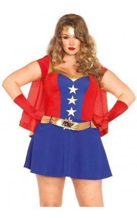 Disfraz Mujer Maravilla Disfraces Tallas Grandes Disfraz Mujer Maravilla Trajes Chic Informales