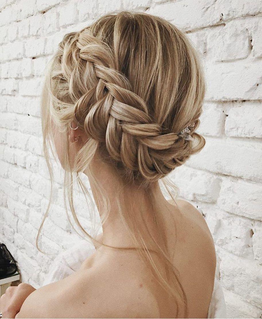 Crown Braid Updo Easy Elegant Classy Blondes Tutorial