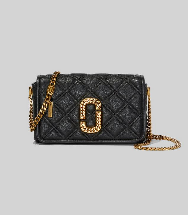 THE Status Flap Crossbody Marc Jacobs in Black   Marc jacobs ...