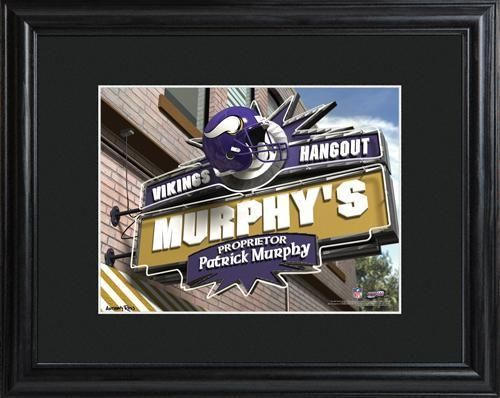 NFL Pub Print - Vikings