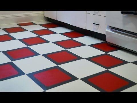 How to install a temporary vinyl tile floor season 1 - Temporary flooring for renters ...