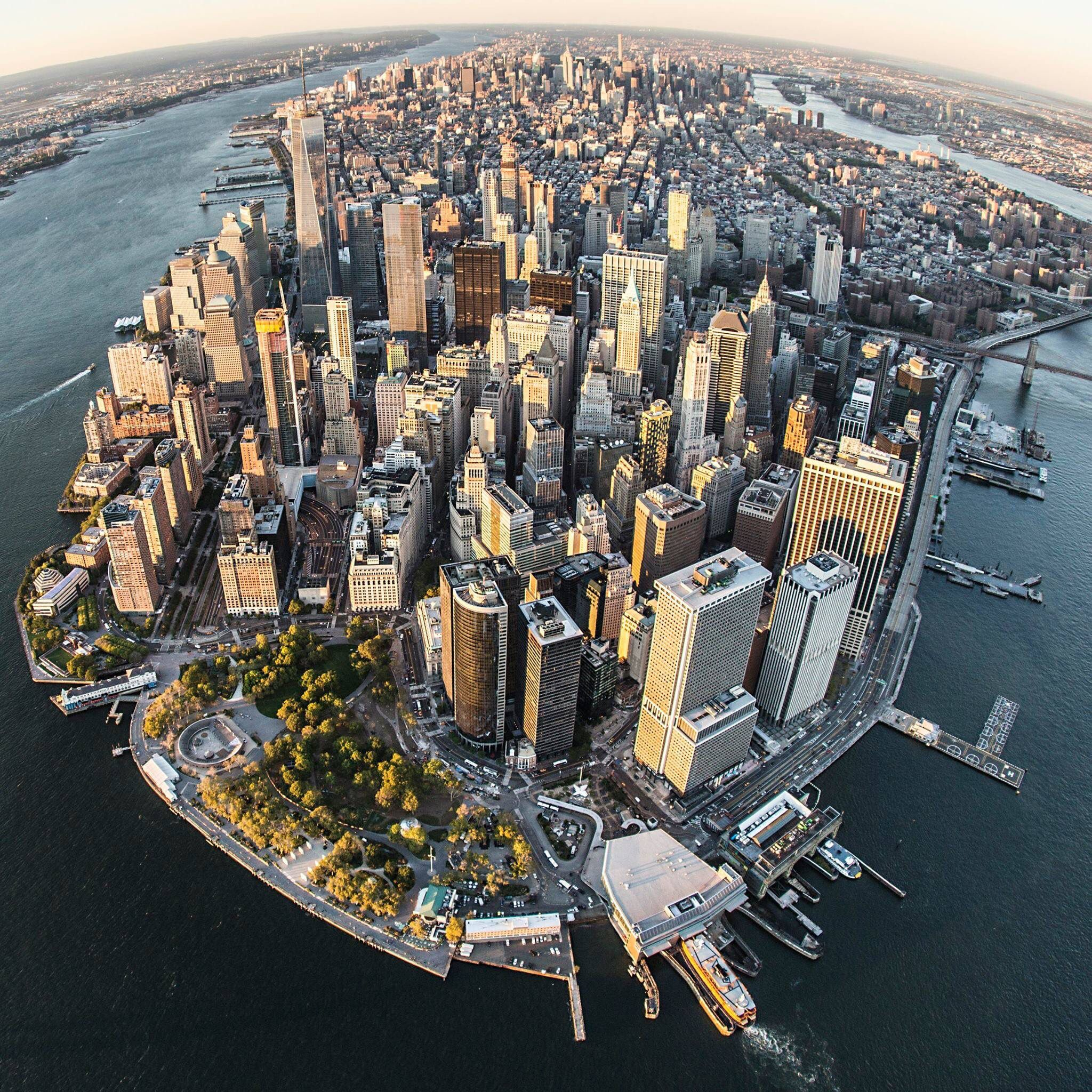 Manhattan New: A Few Slightly Different Views Of Downtown Manhattan By