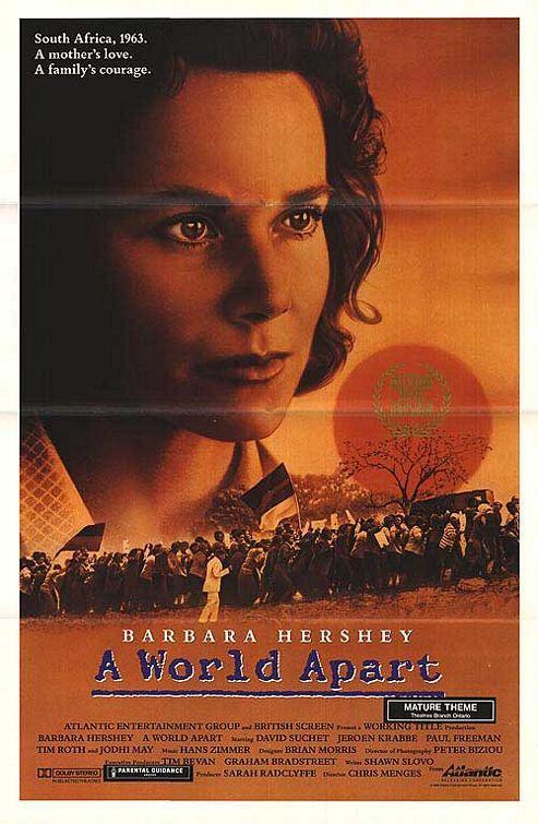 DVD A World Apart