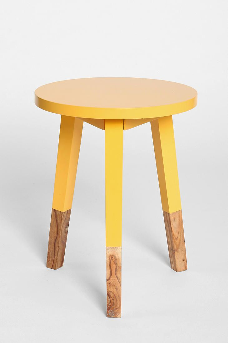 Plum Bow Round Dipped Side Table Side Table Contemporary Side Tables Wooden Side Table [ 1095 x 730 Pixel ]