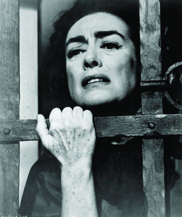 Joan Crawford in ¿Qué fue de Baby Jane?