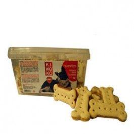 Las galletas Kiwoko, son el complemento perfecto para tu perro. Es ideal para premiar a tu perro por su buen comportamiento o simplemente para consentirlo.  De 2 a 6 unidades por día.