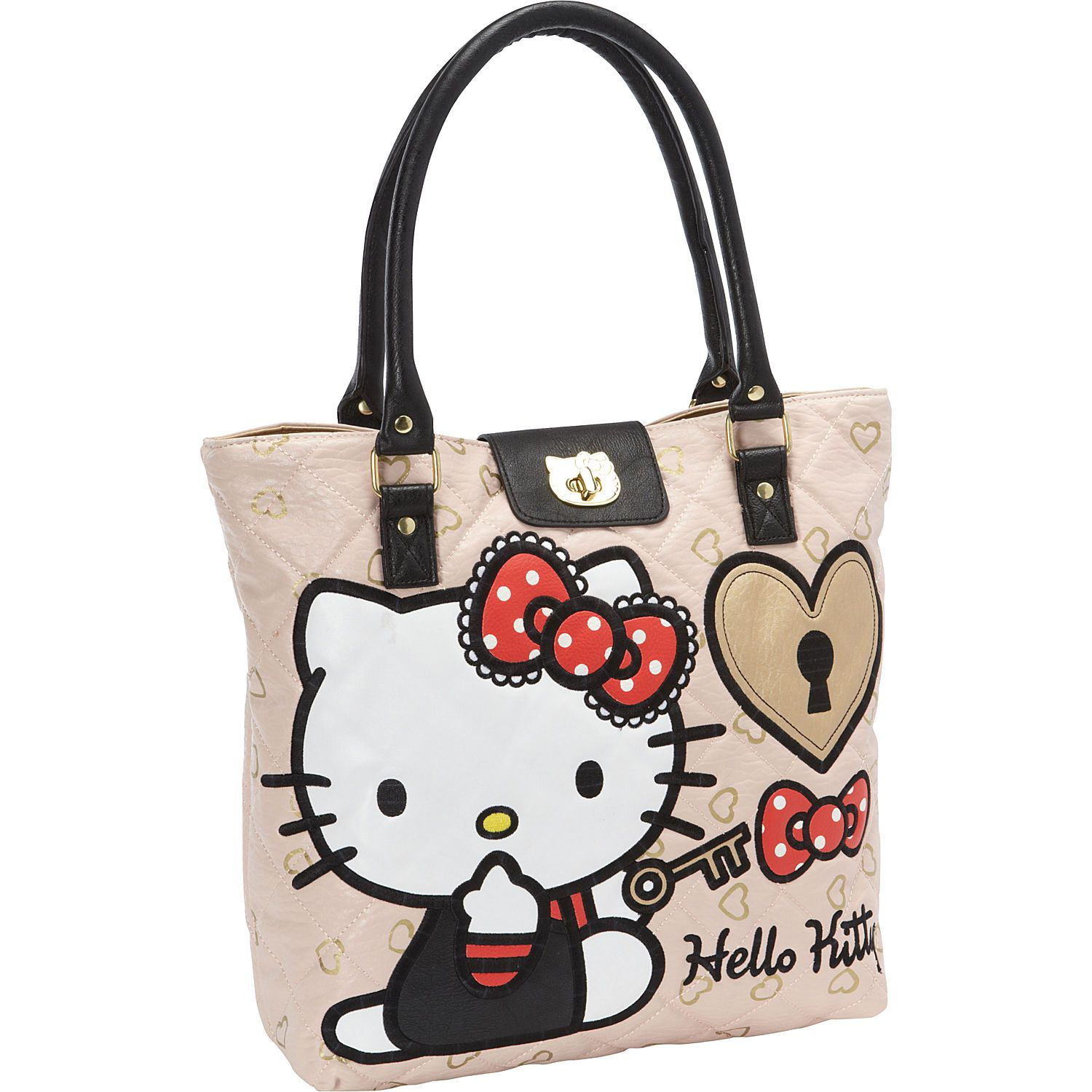 Loungefly Hello Kitty Lock and Key Tote - eBags.com