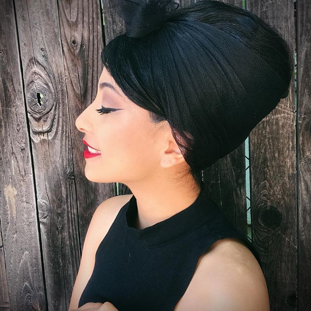 @myriamxn Giving us a perfectly styled beehive!   #Suavecitapomade #Suavecita #Pomade #Hair #Hairstyle #Beehive #Vintage #Retro #Volume #Bighair #Hotd #Suavecitabeauty #Beauty #Getitrucca!