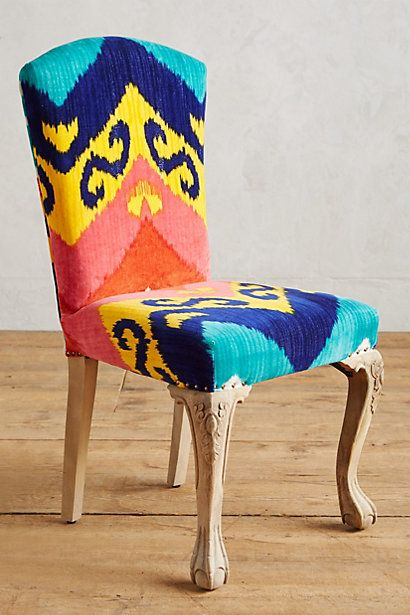 Marialle Ikat Dining Chair Unique Dining Room Dining Chairs