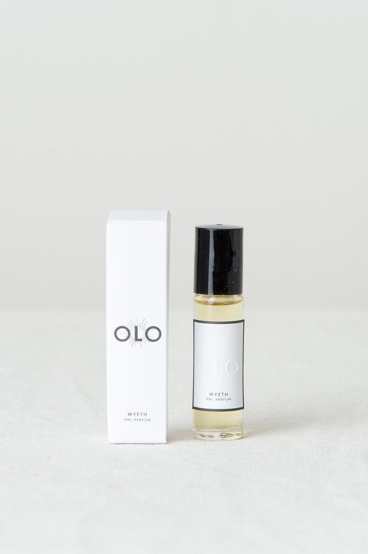 Olo Fragrance Wyeth Cedar & Hyde Mercantile Perfume