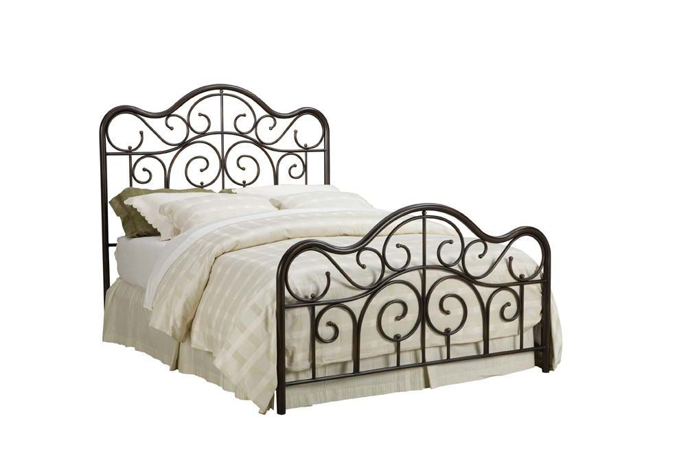 Santa Cruz Queen Metal Bed 56202 B Buy Bedroom Furniture Queen