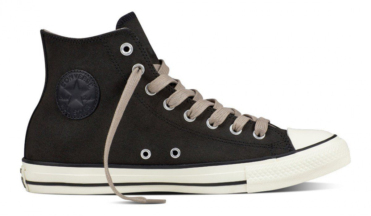 Converse Chuck Taylor All Star Hi Top Coated Leather Black