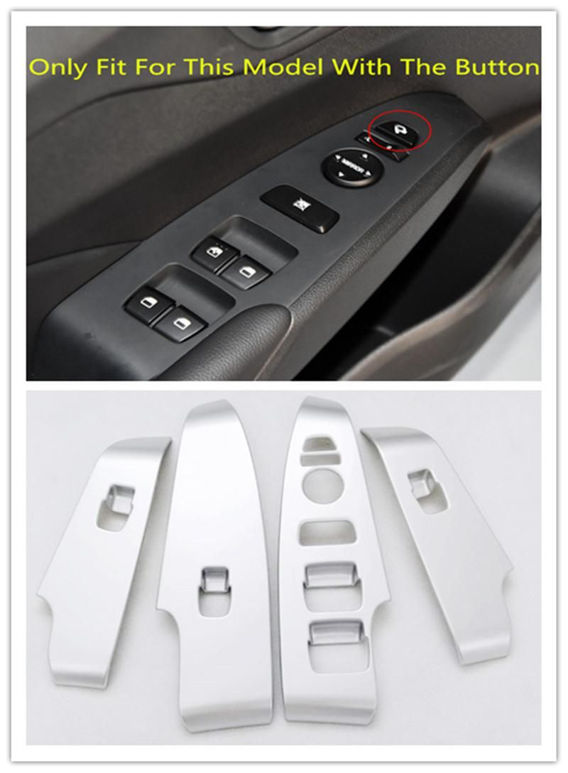 Inner Window Lift Switch Adjusting Cover Trim 4pcs For
