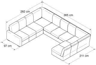 Nabru Build Your Own U Shape Sofa Guaranteed To Fit