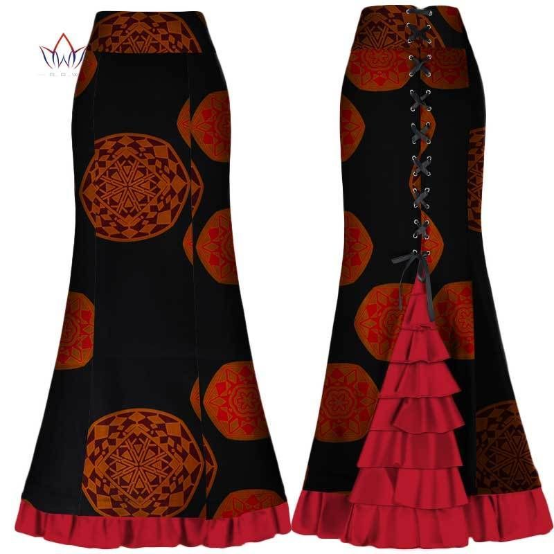 8a04828ef23 african skirts for women long Maxi Skirt for Women Plus Size new african  women clothis one piece lady clothes 4xl natural wy300  trendyafricanwear