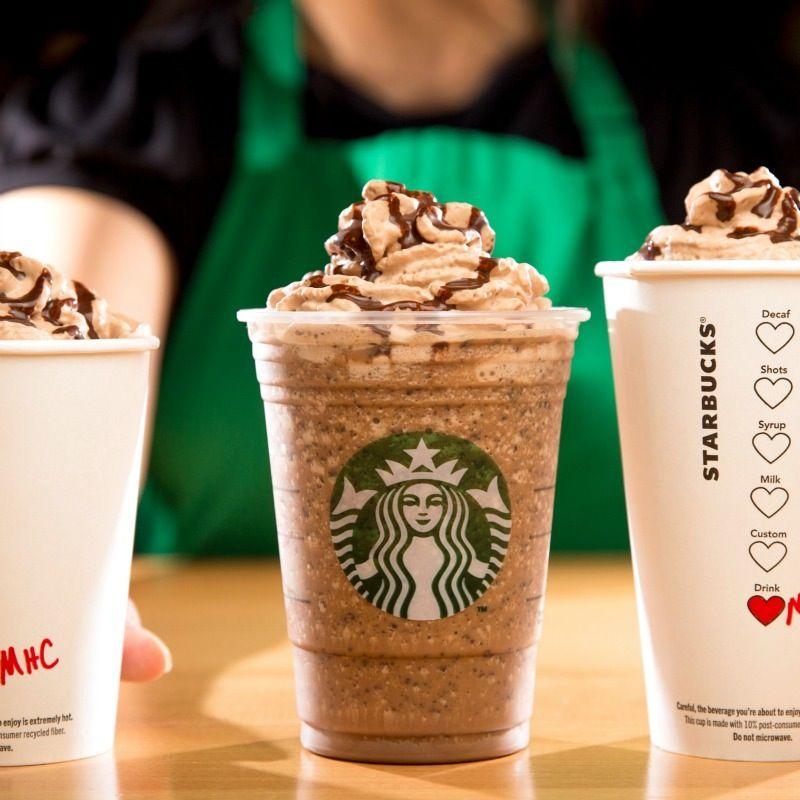 What's In A Starbucks Molten Chocolate Frappuccino? Heaven