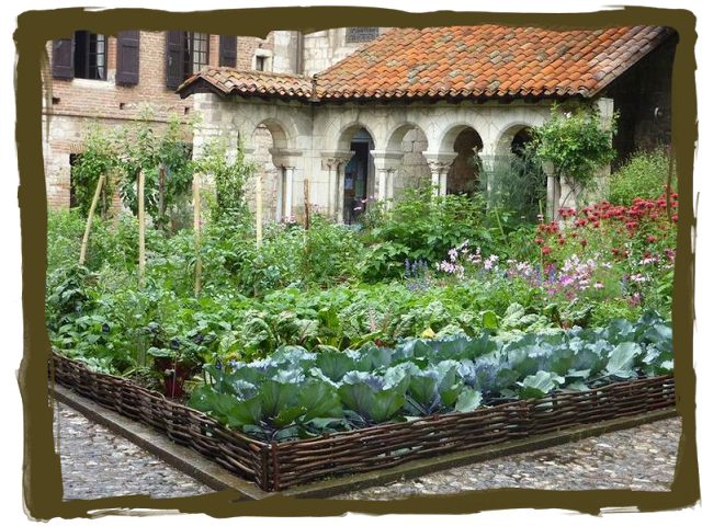 a potager is a french style ornamental kitchen garden it is generally planned for a small on kitchen garden id=85827