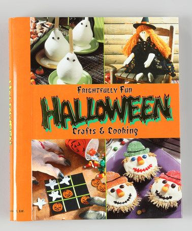 Fun craft & recipe book. These look like really fun ideas to make with Oliver for his haunted birthday party!