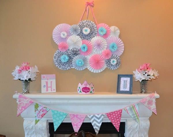 Ideas para decorar un baby shower para ni a en casa for Decoracion casa shower
