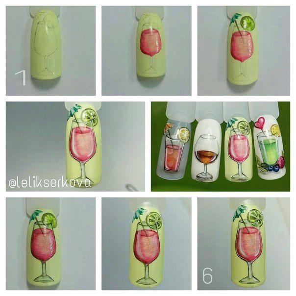 Мои работы,маникюр | Uñas. | Pinterest | Diseños de uñas y Dibujo
