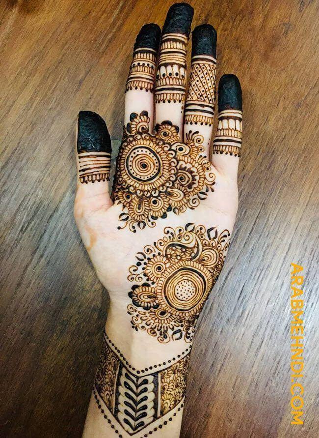 50 Front Hand Mehndi Design (Henna Design) April 2020 in