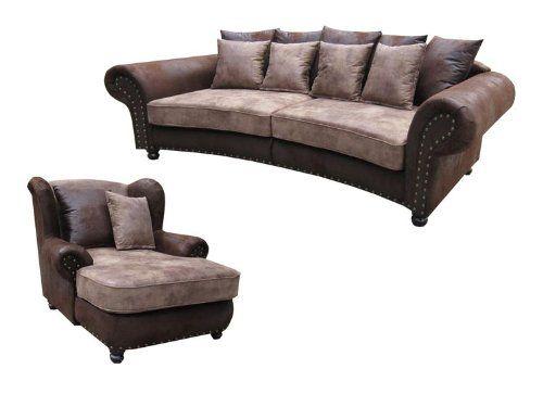 Big Sofa Quot Hawana Quot Im Kolonialstil Mega Ohrensessel Sofa Kolonialstil Sofa Landhausstil Grosse Sofas