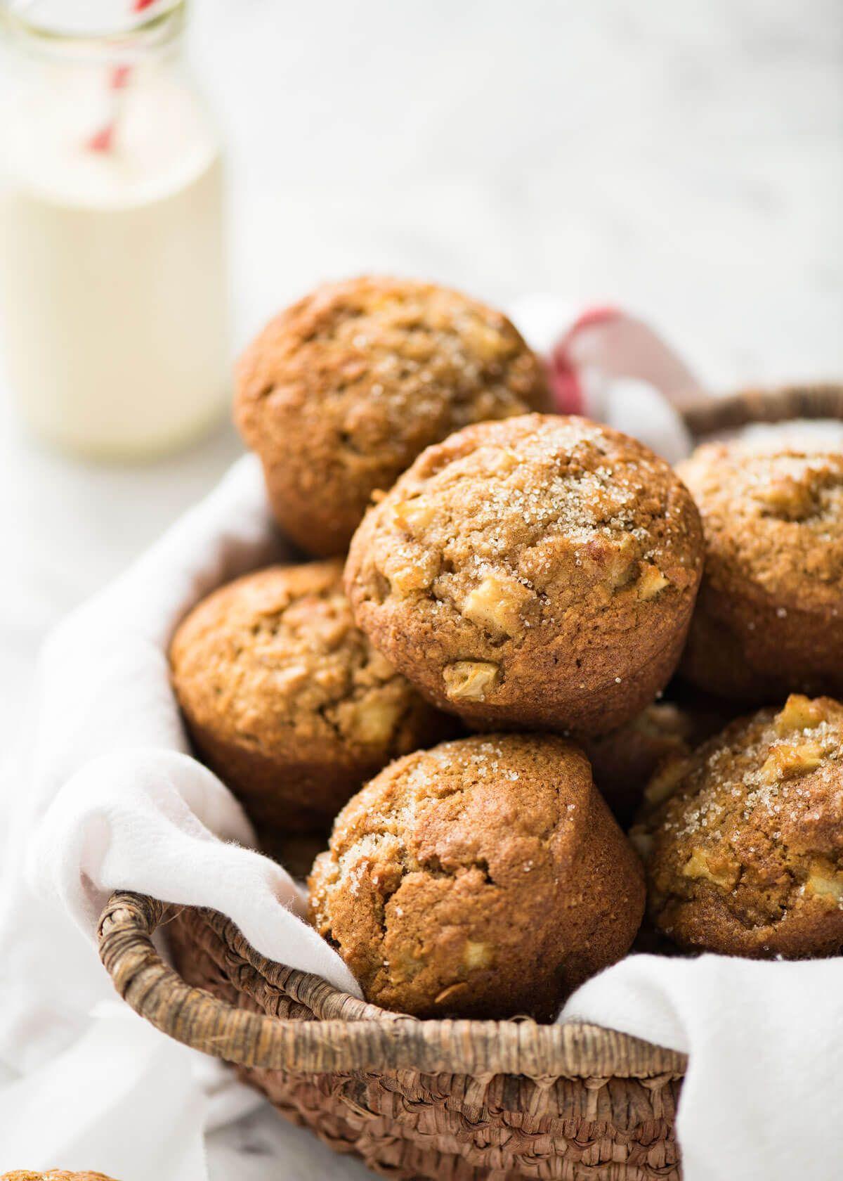 Magic Stay Moist Apple Muffins Recipe Apple Muffins Recipetin Eats Sugar Apples